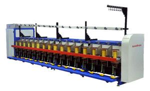 Pp / Hdpe Yarn Twisting And Winding Machine